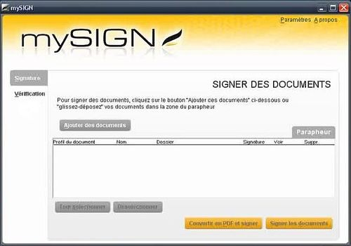 Telecharger MySIGN
