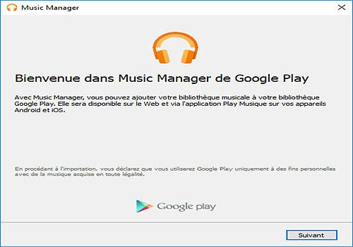 Telecharger Google Play Music Manager