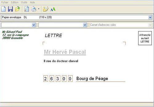 Telecharger Enveloppes Editor