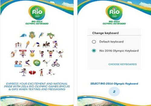 Telecharger Rio 2016 Keyboard ios