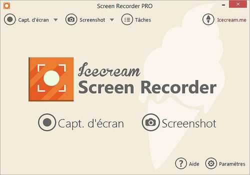 Telecharger Icecream Screen Recorder 5.77