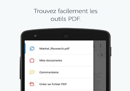 Telecharger Adobe Acrobat Reader pour Android