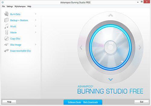 Telecharger Ashampoo Burning Studio Home Free