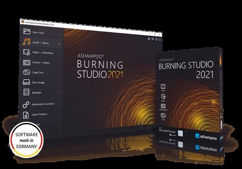 Telecharger Ashampoo Burning Studio 2021
