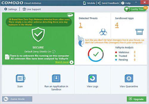 Telecharger Comodo Cloud Antivirus