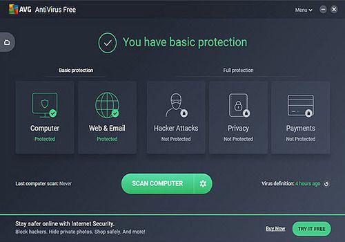 Telecharger AVG Anti-Virus Free Edition
