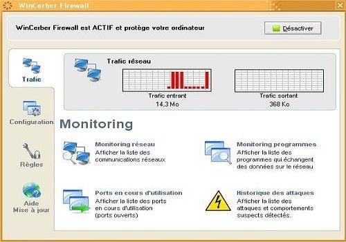 Telecharger WinCerber Firewall