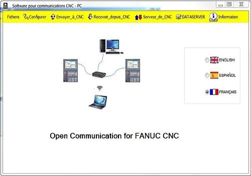Telecharger Communication Software for FANUC CNC
