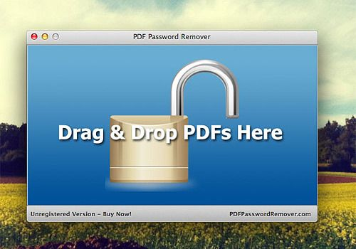 Telecharger PDF Password Remover Mac
