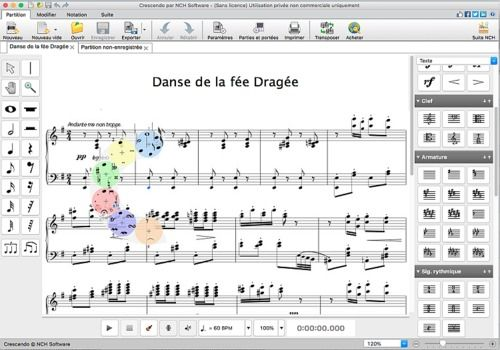 Telecharger Crescendo - Notation musicale pour Mac