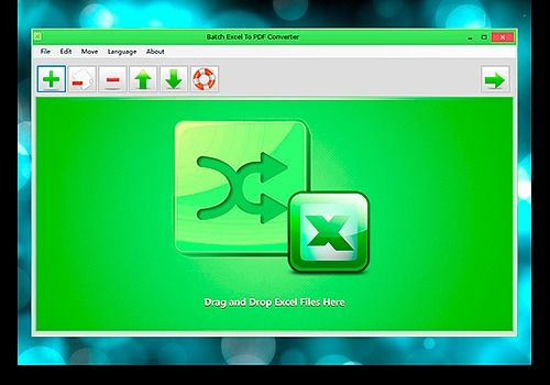 Telecharger Batch Excel to PDF Converter 1.1