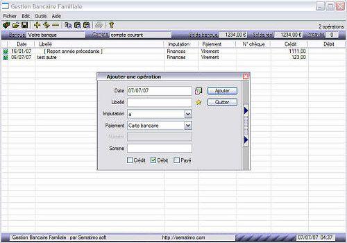 Telecharger Gestion bancaire familiale 7.20