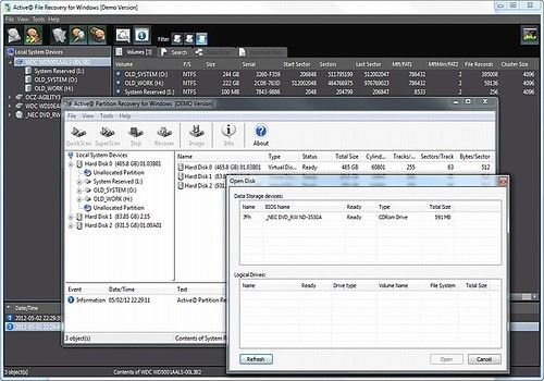 Telecharger NTFS Recovery Toolkit 14