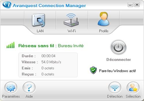 Telecharger Avanquest Connection Manager