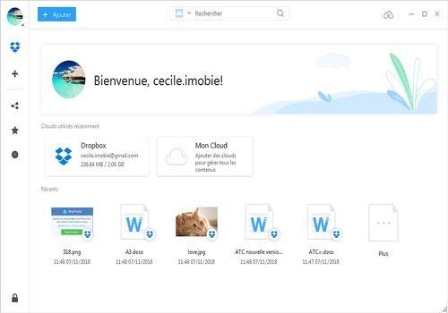 Telecharger AnyTrans pour Cloud (pour Mac)