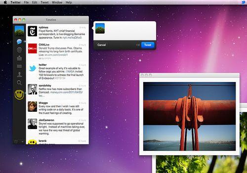 Telecharger Twitter Mac