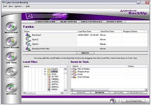 Telecharger CyberScrub BackUp