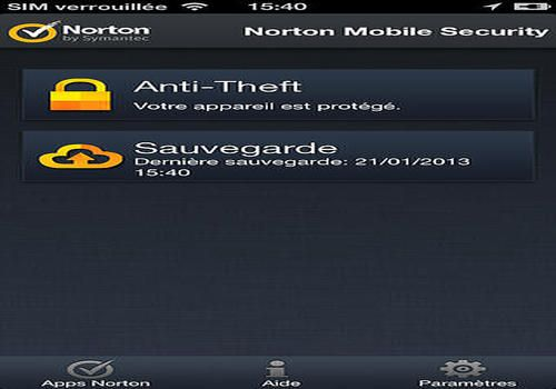 Telecharger Norton Mobile Security pour iOS