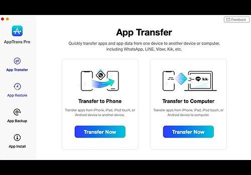 Telecharger AppTrans Pro (mac)