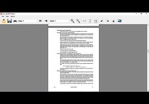 Telecharger Corrupt PDF Viewer V1.1