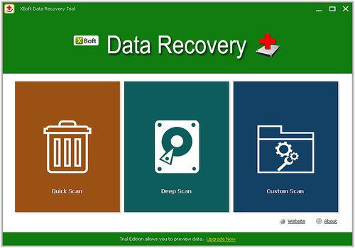 Telecharger XBoft Data Recovery