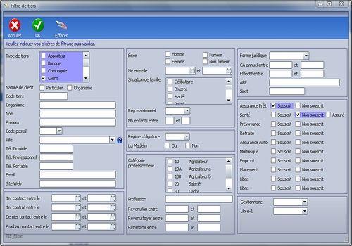 Telecharger CRM Courtage en assurance et produits financiers