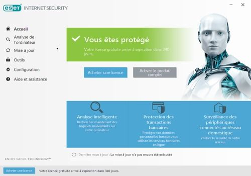 Telecharger ESET Internet Security 11 (ex Smart Security)