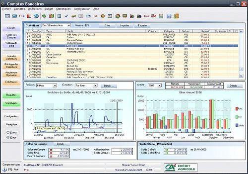 Telecharger Comptes Bancaires Ymsoft