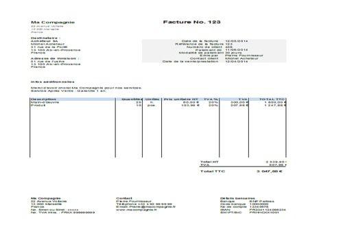 Telecharger Modele Facture Excel Gratuit Le Logiciel Gratuit