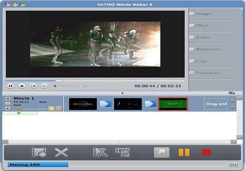 Telecharger ImTOO Movie Maker pour Mac