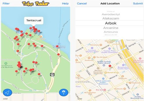 Telecharger Poke Radar for Pokemon GO iOS
