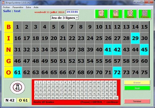 Telecharger Bingo Système
