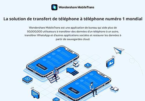 Telecharger Wondershare MobileTrans 2.3.2