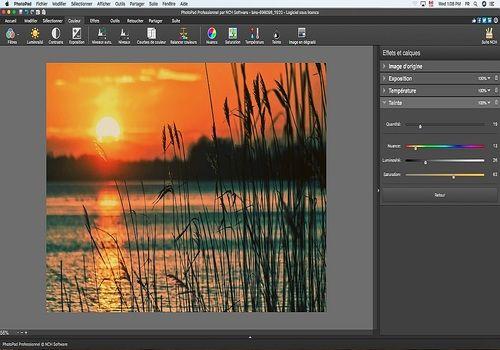 Telecharger PhotoPad - Éditeur d'images gratuit pour Mac (v.6.03)