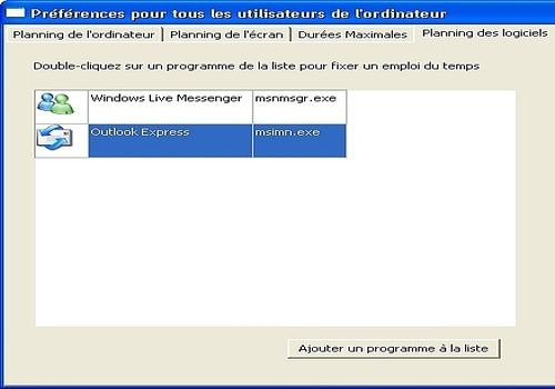 Telecharger Horaire PC