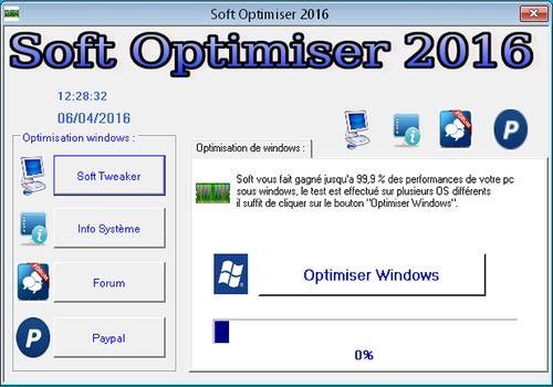 Telecharger Soft Optimiser 2016