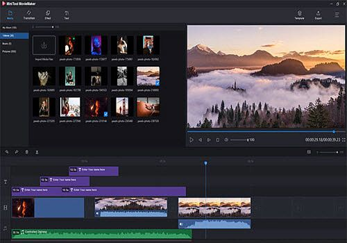 Telecharger MiniTool MovieMaker
