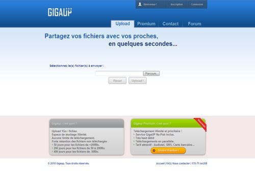 Telecharger GigaUp