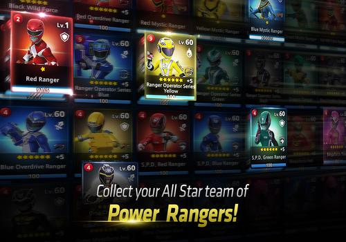 Telecharger Power Rangers : All Stars Android