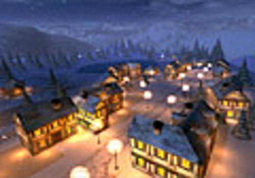 Telecharger Winter Night 3D Screensaver