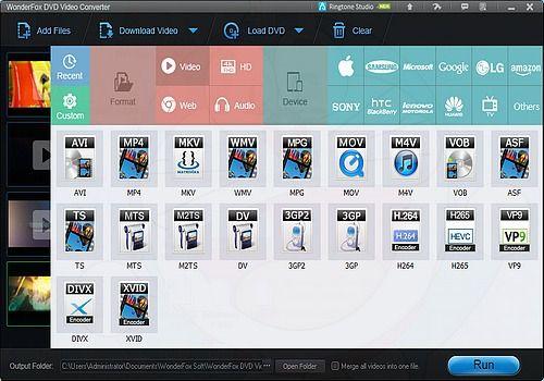 Telecharger WonderFox DVD Video Converter 17.0
