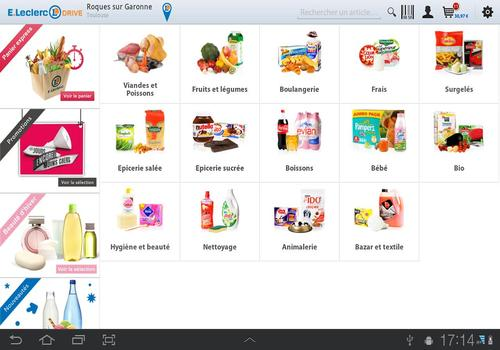 Telecharger LeclercDrive iOS