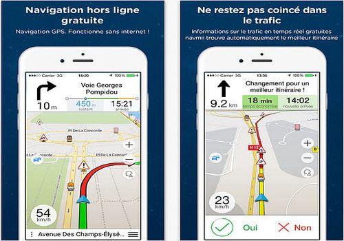 Telecharger Navmii GPS gratuit iOS