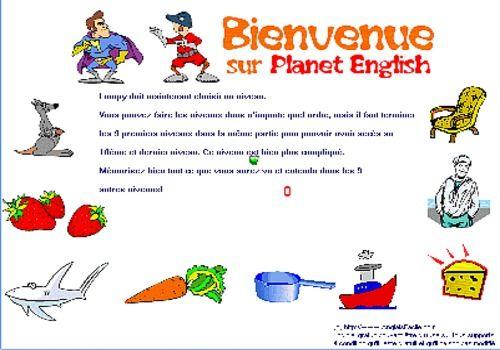 Telecharger Planet English