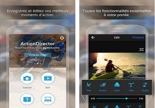 Telecharger ActionDirector Android