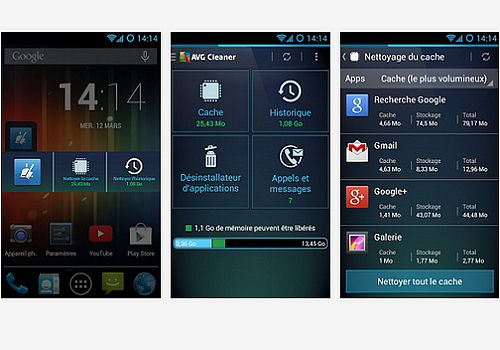 Telecharger AVG Cleaner Android