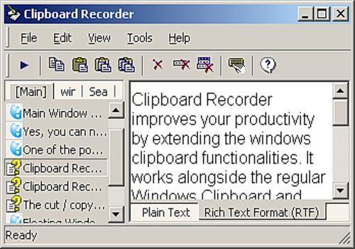 Telecharger Clipboard Recorder