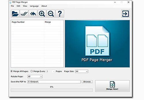 Telecharger PDF Page Merger
