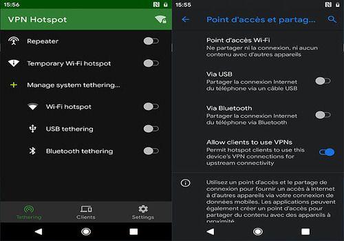 Telecharger VPN Hotspot Android