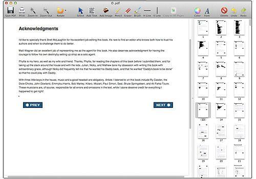Telecharger PDF Editor Mac
